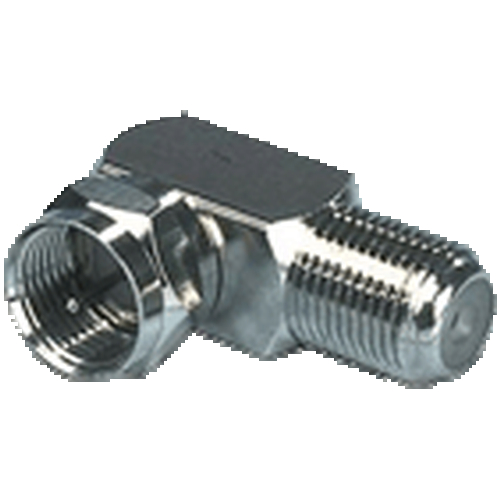F-connector hoek